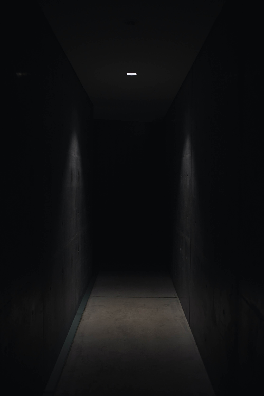 Dark, scary hallway