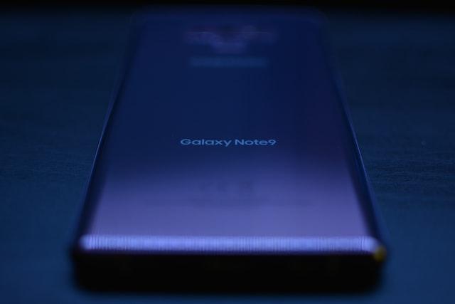 Galaxy Note 9 phone