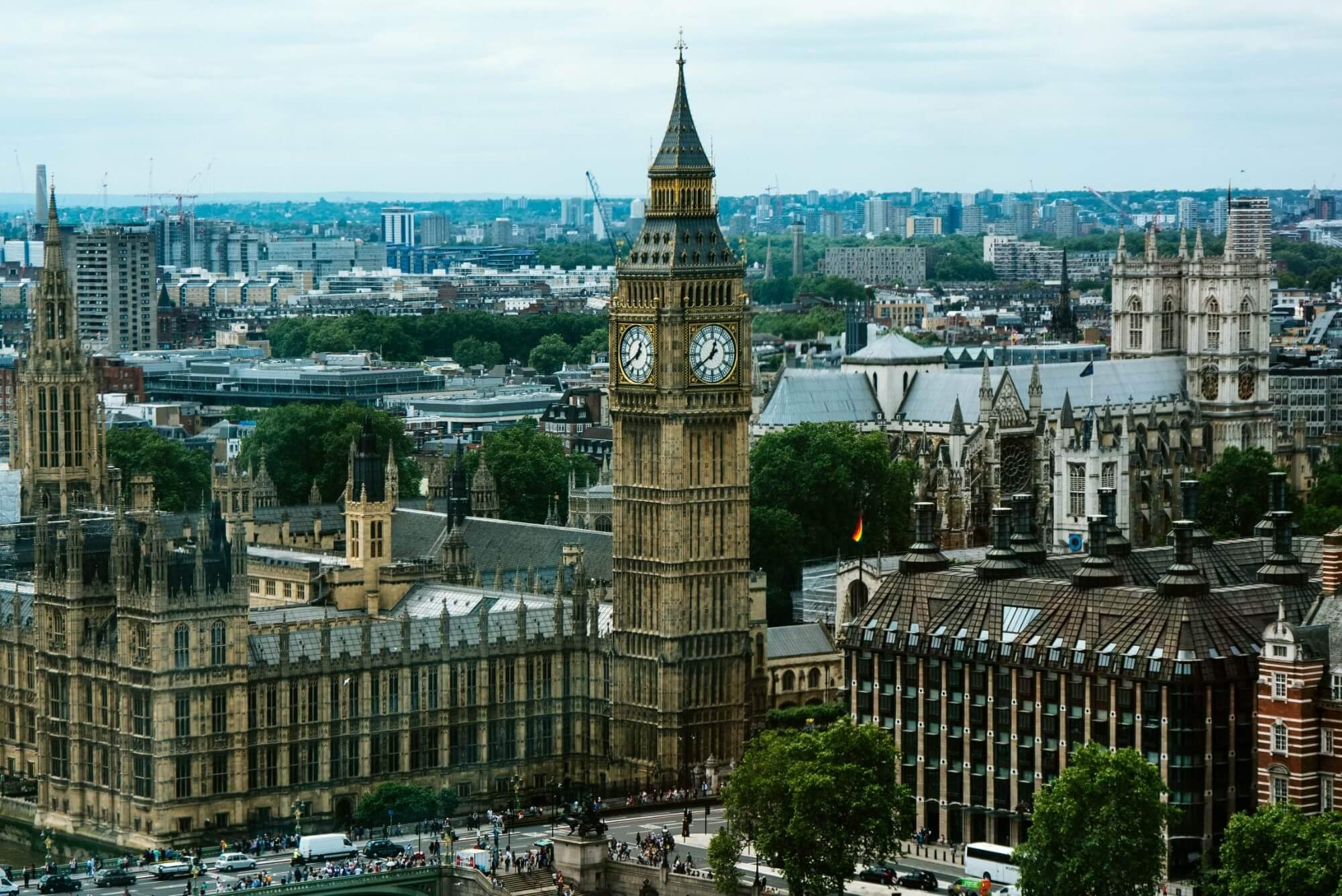 Big Ben and part of Parliament building