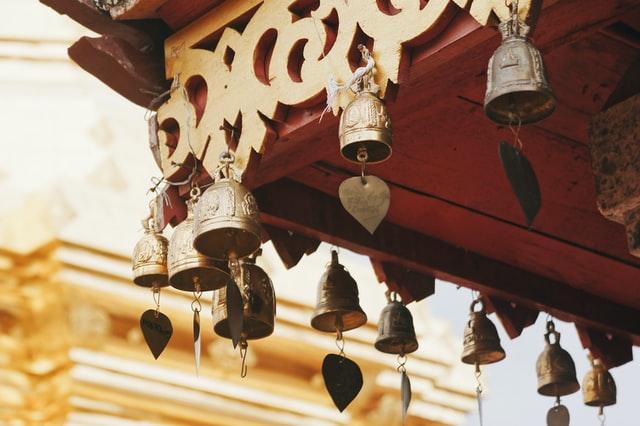 Small metal bells